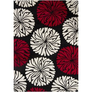 Find a Phair Red Area Rug By Brayden Studio