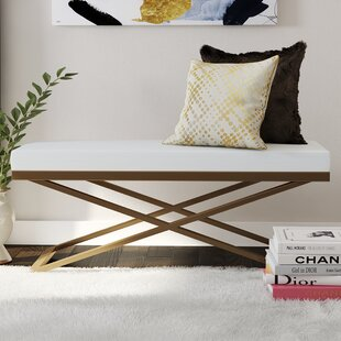 Dargan Upholstered Bench By Fairmont Park