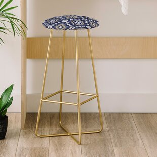 Marta Barragan Camarasa Mystic Tribal 31 Bar Stool East Urban Home