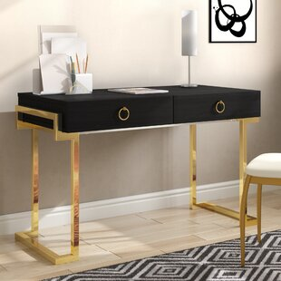 Highlawn 2 Drawer Desk by Willa Arlo Interiors