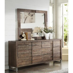 Foundry Select Veronica 6 Drawer Dresser with Mirror