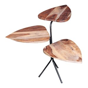 MOTI Furniture Leaf End Table