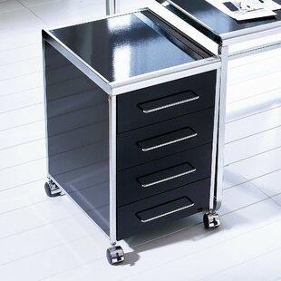 Hartwick 4 Drawer Filing Cabinet By Metro Lane