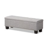Ouzts Upholstered Storage Bench by Alcott Hill®