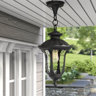 Check Prices Gurnee 1-Light Outdoor Hanging Lantern By Three Posts