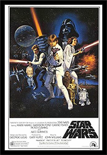 'Star Wars a New Hope 'Framed Graphic Art