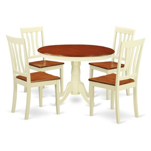 Artin 5 Piece Dining Set by Andover Mills #2