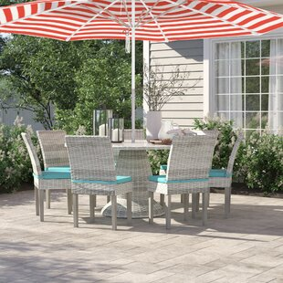 Falmouth 7 Piece Dining Set with Cushions by Sol 72 Outdoor