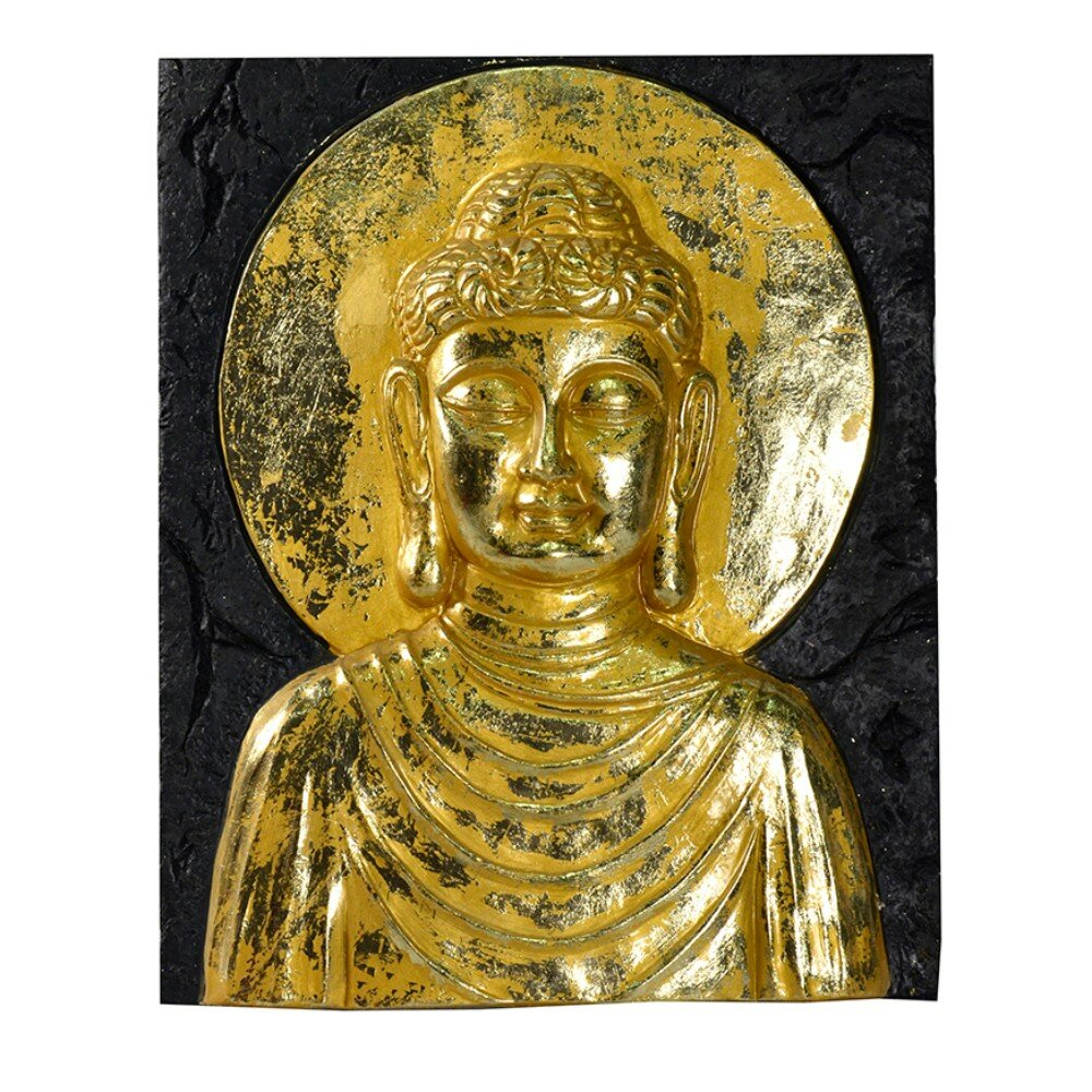 World Menagerie Beautiful Resin Buddha Wall Décor | Wayfair