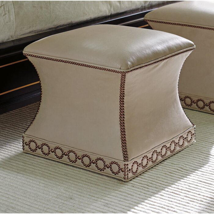 Peachy Carlyle Merino Leather Ottoman Pdpeps Interior Chair Design Pdpepsorg