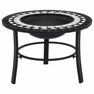 Bartucca Steel Charcoal Fire Pit By World Menagerie