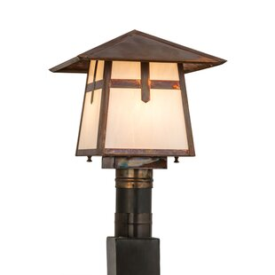Meyda Tiffany Stillwater Cross Mission 1-Light Lantern Head
