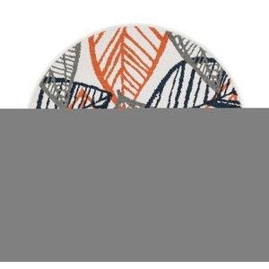 Terrace Ivory/Orange Area Rug