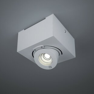 ZANEEN design Bridge Head Tilt 1-Light Flush Mount