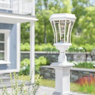 Almonte Victorian Bulb Solar 1-Light Lantern Head by Charlton Home