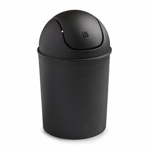 Mini 1.50 Gallon Swing Top Waste Basket