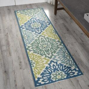 Vernon Blue/Green Indoor/Outdoor Area Rug