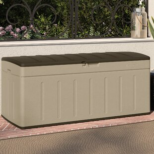 Suncast Blow Molded 99 Gallon Resin Deck Box