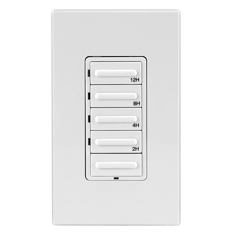 Leviton 20 Amp Single Pole 3 Way Push Button Light Switch Wayfair