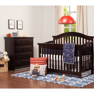 Compare prices 4-in-1 Convertible 2 Piece Crib Set ByHarriet Bee