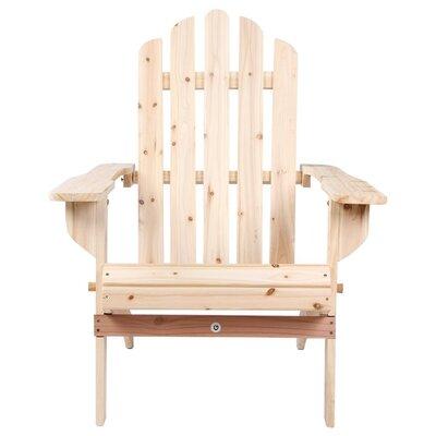 uwharrie wave wood adirondack chair wayfair