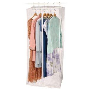 Clear Vinyl Storage Jumbo Maxi Rack Dress Garment Bag by Richards Homewares