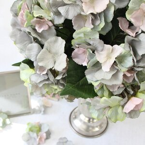 Luxury Silk Hydrangea Bloom Stem