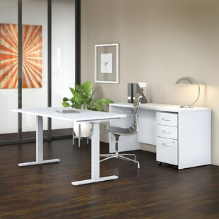 Studio C 3 Piece Desk Office Suite by Bush Business Furniture Discount