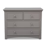 Bethpage 4 Drawer Dresser by Serta