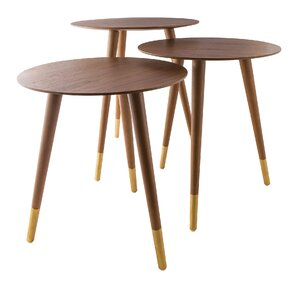 Jessa 3 Piece Nesting Tables by Corrigan Studio
