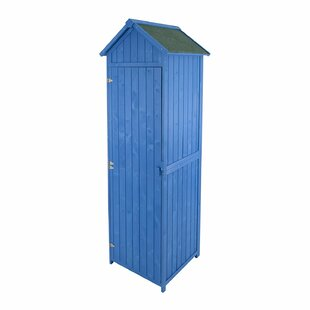 2 Ft. W X 2 Ft. D Apex Wooden Tool Shed By WFX Utility