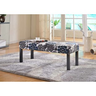 Winston Porter Coursey Upholstered Bench