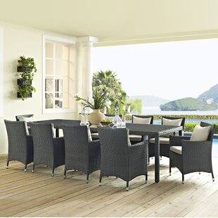Brayden Studio Tripp 11 Piece Dining Set