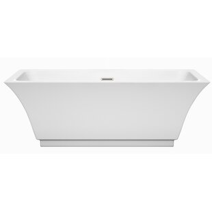 Galina 67 inch  x 31.25 inch  Freestanding Soaking Bathtub