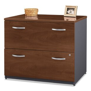 Series C 2-Drawer Mobile L-Bow Desk by Bush Business Furniture Fresh