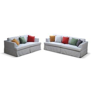 Kokon Configurable 2 Piece Living Room Set by VVRHomes