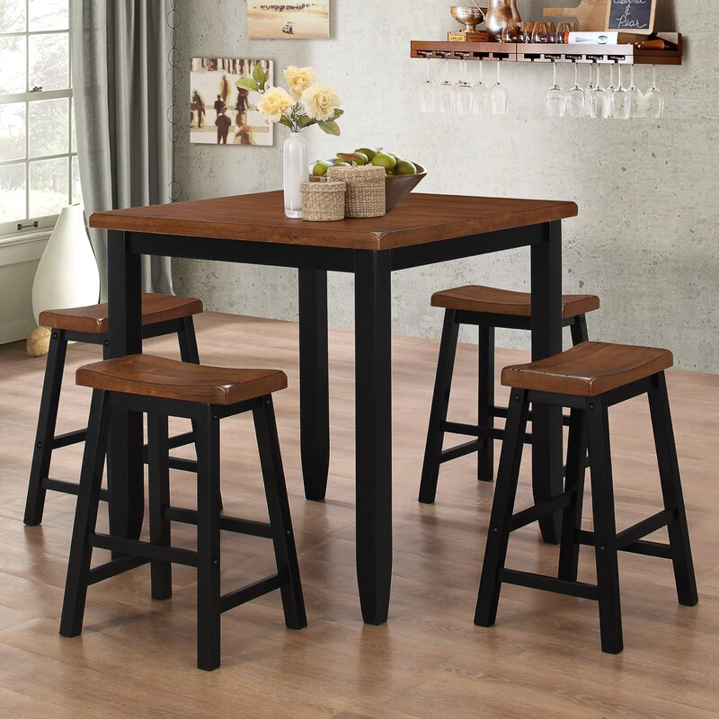 Simmons Casegoods Ruggerio 5 Piece Counter Height Pub Table Set