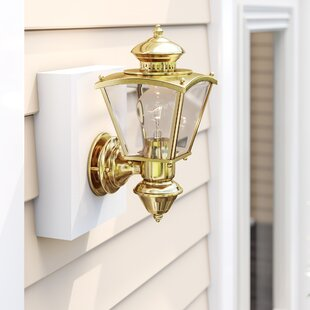 Lathbury Coach 1-Light Outdoor Sconce