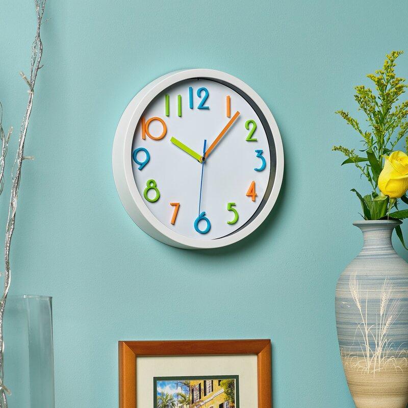 Isabelle Max Northfleet 10 Wall Clock Reviews Wayfair