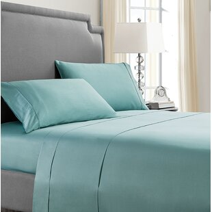 Solid 300 Thread Cotton Sheet Set ByAlwyn Home