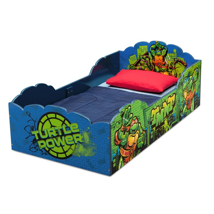 Delta Children Teenage Mutant Ninja Turtles Convertible Toddler Bed