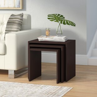 Cody 3 Piece Nesting Tables by Wade Logan