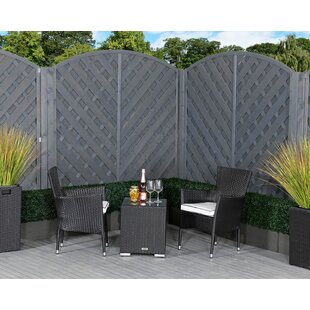 Farrar 2 Seater Rattan Conversation Set By Sol 72 Outdoor