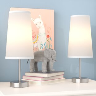 Harriet Bee Nestor Contemporary Candlestick Table Lamp (Set of 2)