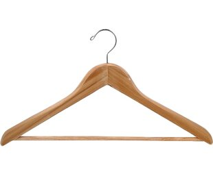 Compare Cedar Suit Hanger (Set of 10) By Only Hangers Inc.
