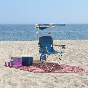Angelette Quik Max Shade Folding Beach Chair by Freeport Park