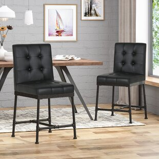 Tracy Industrial Modern 24 Bar Stool (Set of 2) by 17 Stories