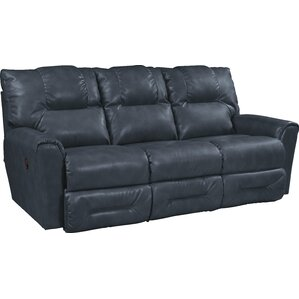Easton Leather Reclining Sofa by La-Z-Boy