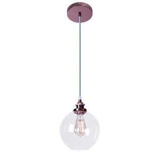 Donalson Shimar 1-Light Pendant by Wrought Studio