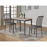 Kronos 3 - Piece Dining Set by 17 Stories